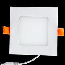 high quality 6 inch 8inch round flat led panel light 18w AC85-265V new product