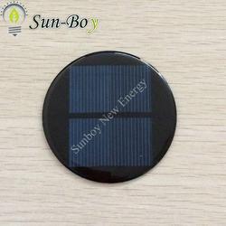 Round Epoxy Mini Solar Panel 3V 100mA