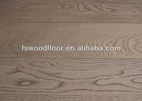 wide plank grey oak solid timber flooring