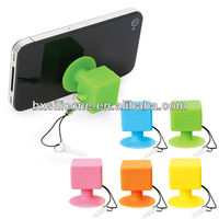 Brand new silicone card holder case for mobile phone/phone shoulder holder/mobile phone car holder