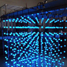 DC 5V input 3D effect led pixel light 35mm ball