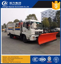 wash and clean the road truck municipal sanitation cleaning truck made in CN street sweeper truck for sale