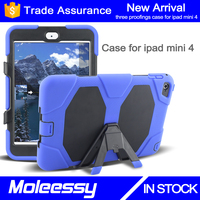 Best Seller High Quality Sublimation custom belt clip case for ipad mini 4