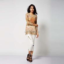 Modern style slim 100% cotton long-sleeve girl T-shirt