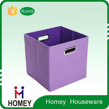 Factory Supply Luxury Quality Cheap Home Use Fabric Toy Kids Storage Box