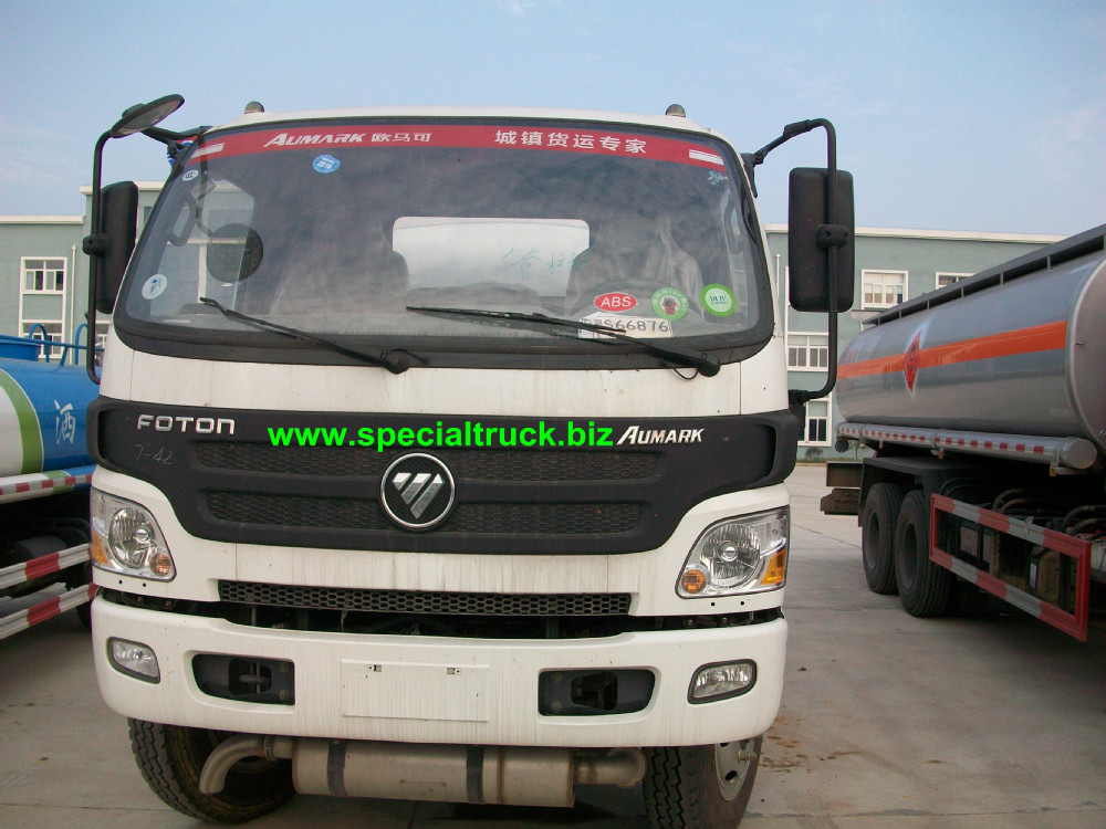 Cost Price! FOTON New Fuel Tanker Truck 9000L