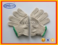 overlock is green Warm cotton work glove