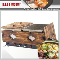 Top Performance Electric Double Tank Japanese Oden Making Machine For Restaurant Use