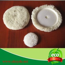 sheepskin product wool felt polishing pad wholesale in china for car cleaning