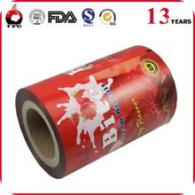 OEM food opp plastic film rolls
