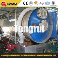Turnkey service waste plastic to fuel diesel oil machine waste tyre recycling plant