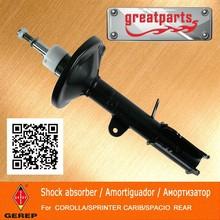 High quality rear auto shock absorber for TOYOTA COROLLA/SPRINTER CARIB/SPACIO 4854009220 4854009270