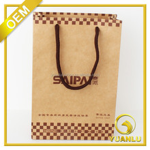 Custom Recycle ECO Friendly Kraft Paper Bags Paper Brown Shopping Bags Paper Packing Bags