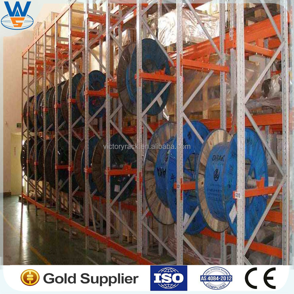 Warehouse cable reel storage rack, View cable reel storage rack ...