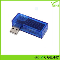 USB charging current/voltage detector USB current and voltage tester mobile power test usb voltage current meter