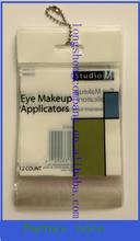 Cosméticos aplicadores bolsas de embalaje, maquillaje de ojos aplicador bolsas de embalaje