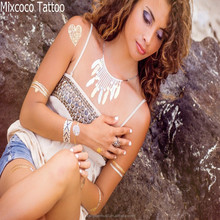 Fashion tattoo , temporary tattoo for party,holiday, and body jewerly arts shine tattoo sticker