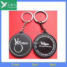 Newest style soft pvc custom key cover cute 3D soft pvc personalized key cover for promotion