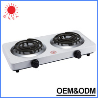Portable Electric Hot Plate Mini Travel Hot Plate 2 burner electric stove Cooking Hot Plate