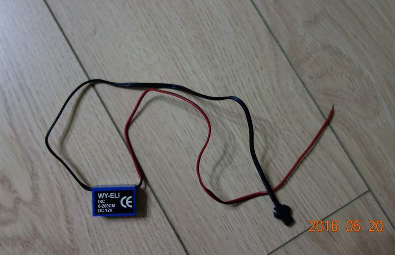 Wy-eli-isc-0-200cm Simple El Wire Inverter / Dc12v Car Power El Wire ...