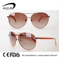 Orange Color For Wholesale Custom Sunglasses No Minimum