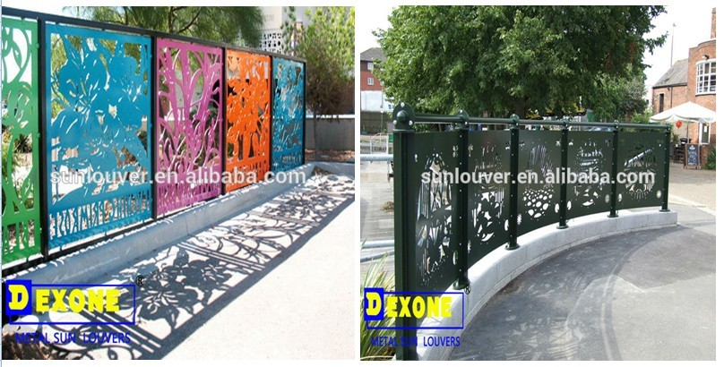 M tal aluminium perfor panneau pour la fa ade du b timent mur panneau cran - Panneau perfore decoratif ...