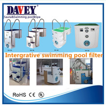 Acrylic / Plastic Integrative Swimming Pool Filter (Change to Sand Filter Filtration System)