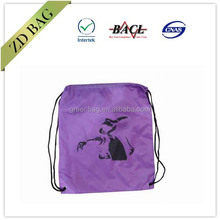 custom190t polyester shoe bag with logo