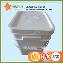 multifunction Square/ Rectangular Plastic Bucket for Food