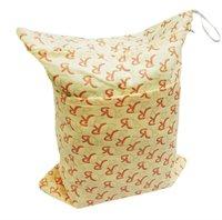 cloth Diaper bag, Waterproof PUL minky outer cute diaper bag Wet dry bags,