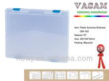 A4 size transparent plastic document file box