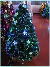 2015 Hot Fiber Optic With Led Star Lights Christmas Decorations Christmas Tree