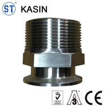 SS304/316L NPT clamped adapter