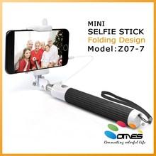 Aluminum+ABS Material Z07-7 Digital Camera Use Handheld monopod selfie stick