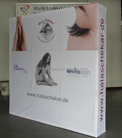8ft Pop up cardboard advertising display stands