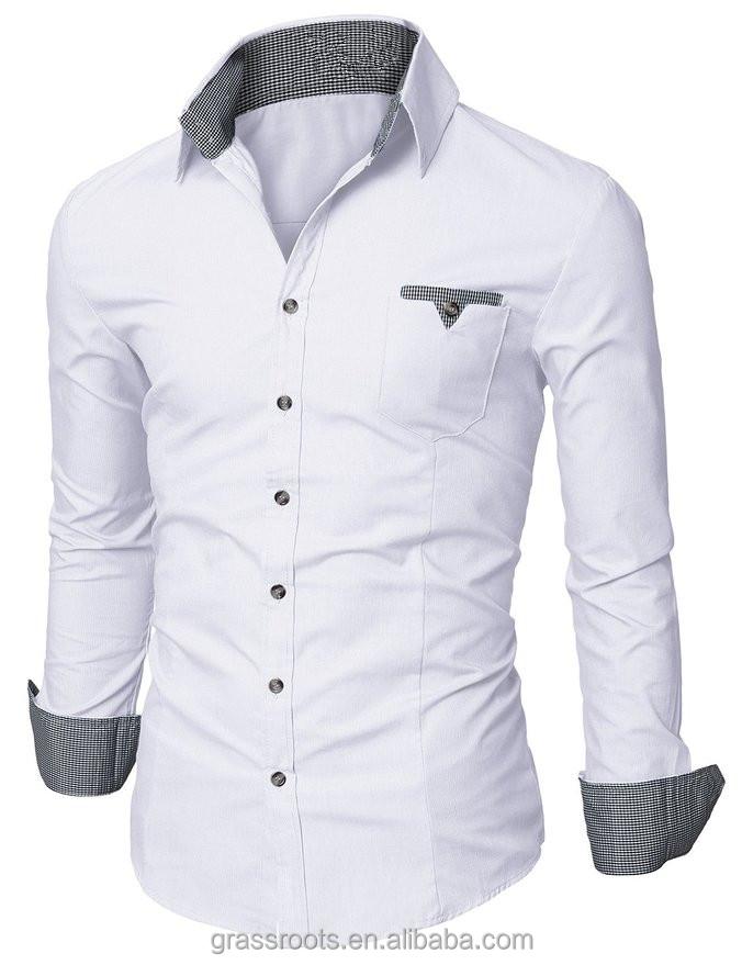 latest fashion design italian style double collar casual