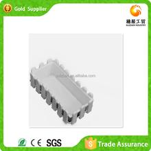China Wholesale Garden Durable Plastic Flower Pot Trays Rectangular