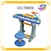 Musical Keyboard Piano With Microphone Plastic Electronic Organ