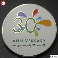 Custom Best Quality Hard Enamel Metal Emblem with Safety Pin
