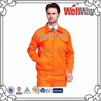 Hi vis coal mine painters safty flame resistent workwear uniforms