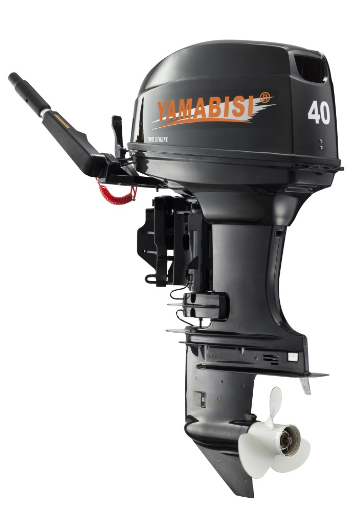 Ce Approved 2 Stroke 40hp Yamabisi Outboard Motor Engine