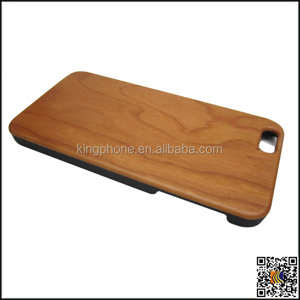 Hot sale For iPhone 6 plus wood case cover hard case, Mobile phone wood hard case design your own cell phone hard case