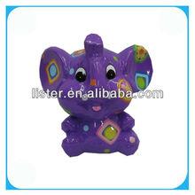 Pottery Elephant Money Box,Coin Purse,Coin Bank