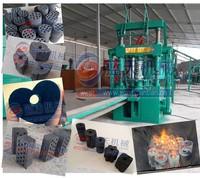 Professional factory honeycomb coal briquette press machine charcoal dust brick making machine