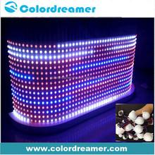 30mm high brightness DMX RGB led pixel DC12V led sting lights for DJ booth lighting