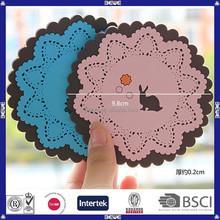 advertising wholesale price food grade silicone coaster