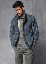 Europe and the United States men sweater knitting cardigan new men's autumn/winter big yards wool sweaters