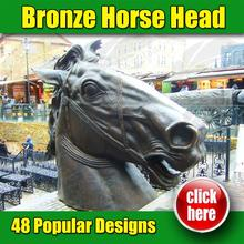Hot sale Bronze Horse geometric period for wholesales