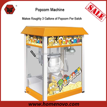 Manufacturer Competitive Price GS CE ETL Certificate Automatic 3 Gallon Output Commercial 8 Ounce Kettle Popcorn Machine
