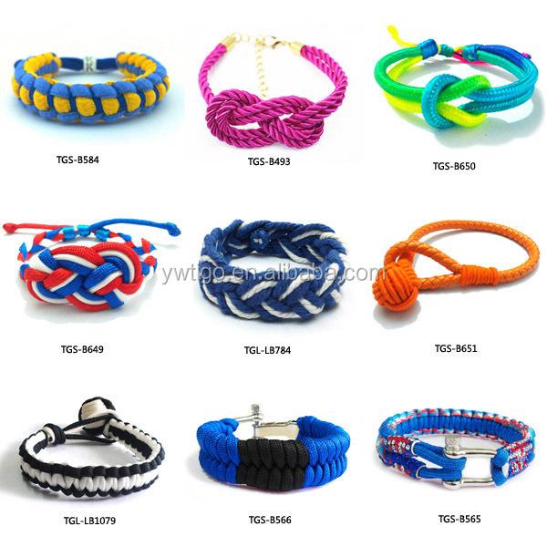 Whole Elastic Knotted Bracelets Rope Name